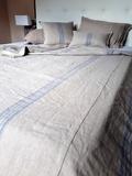 prehoz na posteľ, prikrývka, letná prikrývka, deka, ľanový prehoz, ľanová prikrývka, prehoz, deka