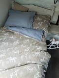 posteľné obliečky, detské posteľné prádlo, ľanové obliečky, obliečky s koníkmi