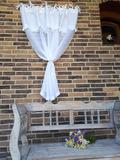 záclona, romantická záclona, ľanová záclona