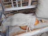 vrecko na chlieb, eko obal, obal na pečivo, ľanové vrecko