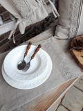 prestieranie, ľanové prestieranie, podložka pod tanier, stolovanie