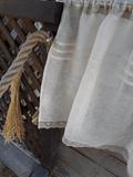 Ľanová záclona Natural