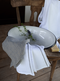Sada Natural Linen White