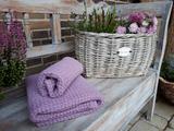 Ľanová osuška a uterák Lavender