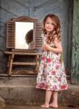 šaty, ľanové šaty, dievčenské šaty, letné šaty
