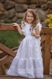 svadobné detské šaty, šaty, slávnostné šaty, detské šaty