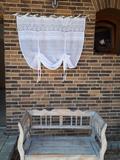 Ľanová záclonka Charming Cottage