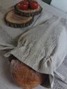 Ľanové vrecúška na pečivo