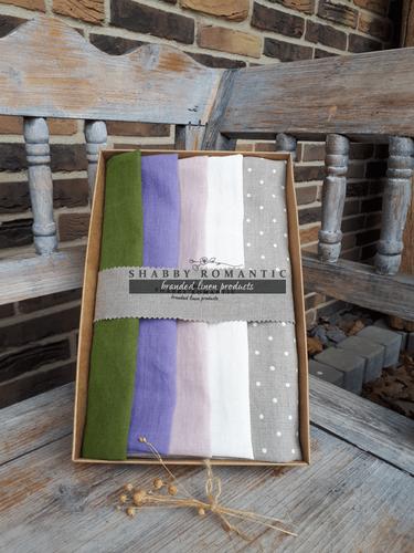Darčeková sada Linen Towels Fresh