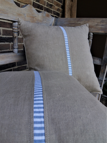 Ľanová obliečka na vankúš Mediteran Style