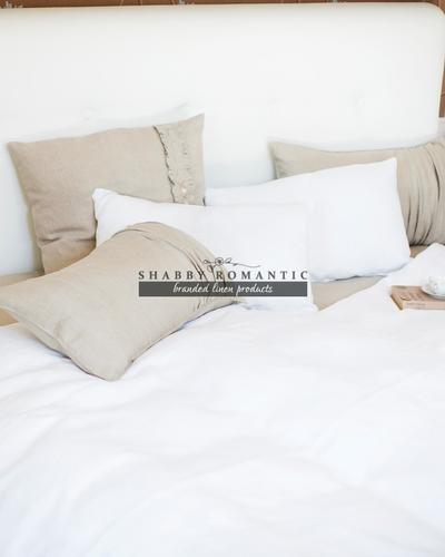 Ľanové posteľné obliečky LaTTe MacChiaTo