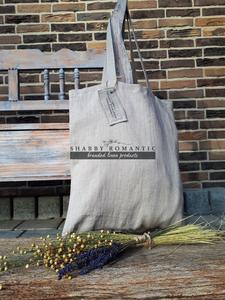 Ľanová nákupná taška