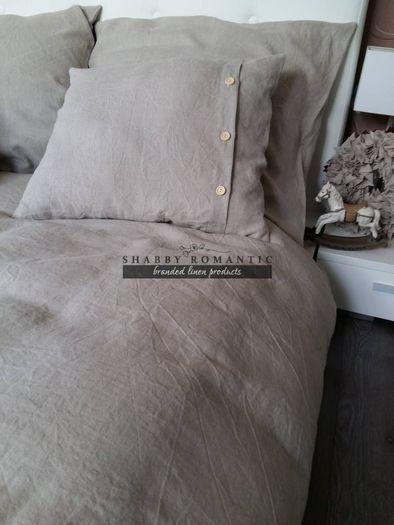 Ľanové posteľné obliečky Fresh Nature