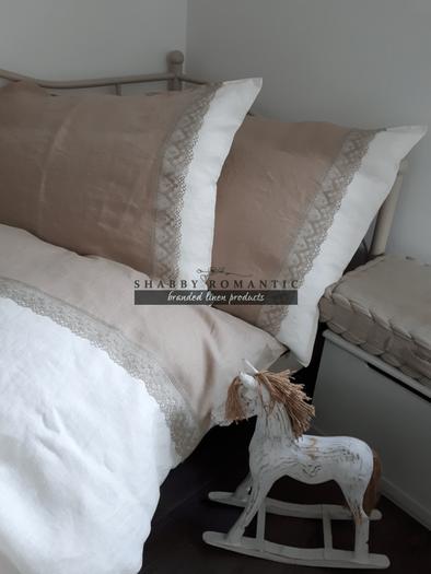 Ľanové posteľné obliečky Magic Story II