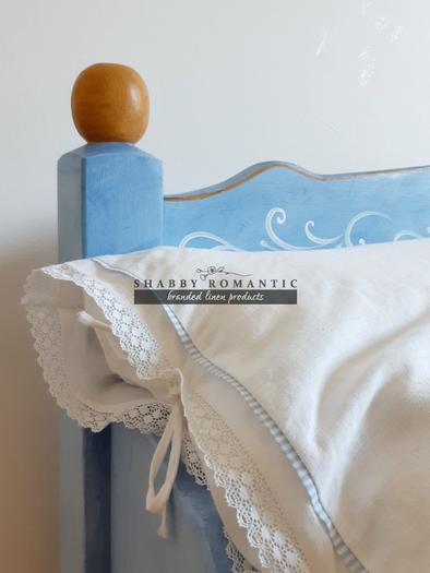 Ľanové posteľné obliečky Promise of Love
