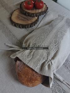 Ľanové vrecko na chlieb Natural