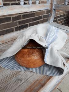 Vrecko na chlieb Blue Stripes